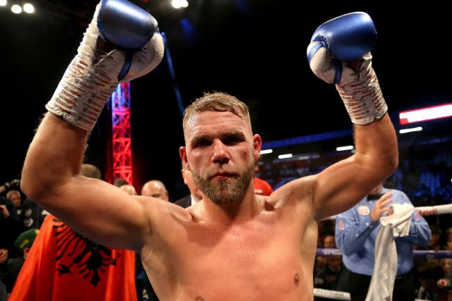 Billy Joe Saunders is a two-weight world champion (Paul Harding/PA)