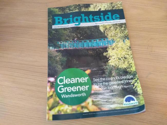 Brightside Magazine, produced by Wandsworth Council. Free for use across BBC news wire network