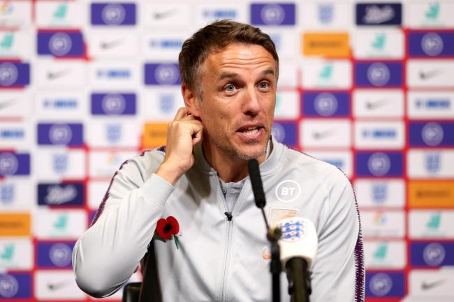 Phil Neville says England Women are not yet playing perfect football