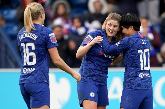 Chelsea v Manchester City – FA Women's Super League – Cherry Red Records Stadium