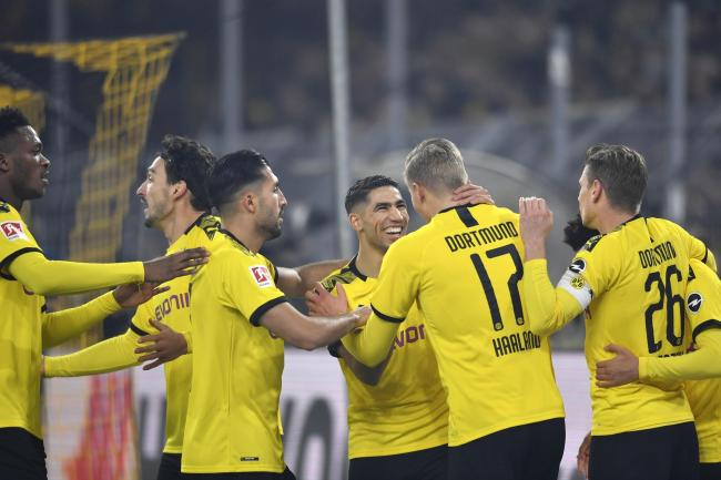 Dortmund were on fire on Friday night
