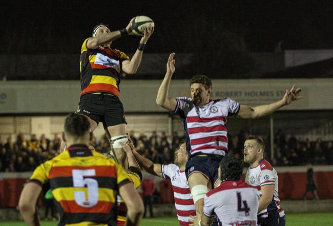 Park take local bragging rights in front of huge crowd at The Rock