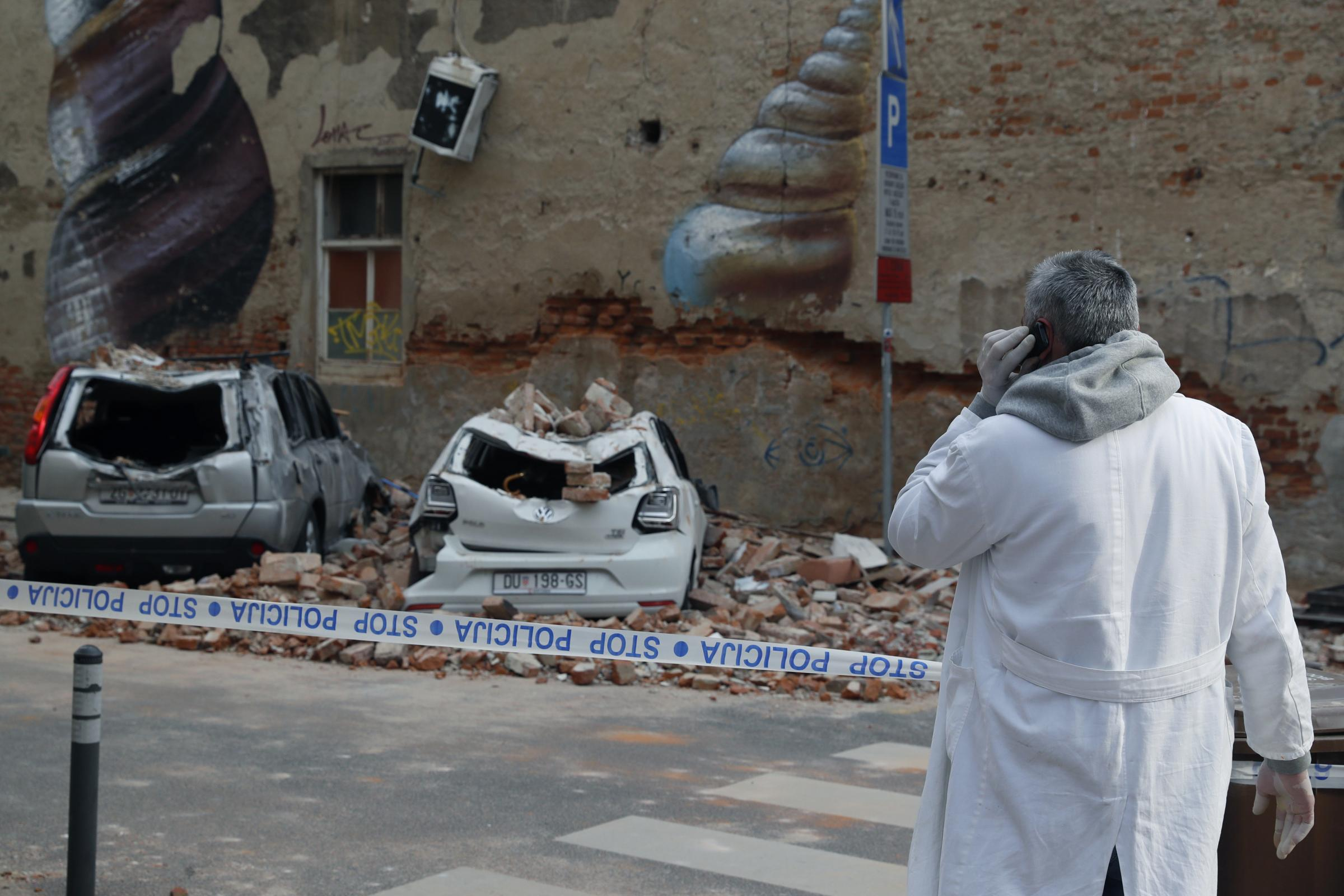 Teenage Girl Dies As Earthquake Aftershocks Rattle Croatian Capital Wandsworth Times