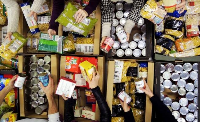 Foodbanks are experiencing a huge surge in demand