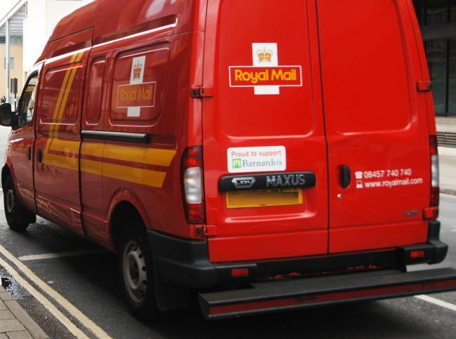 Royal Mail has suspended letter deliveries on a Saturday
