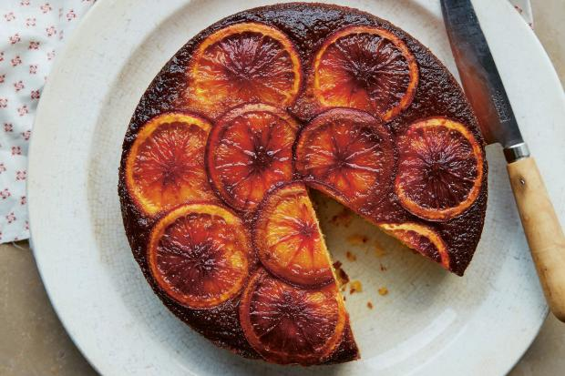 Orange, ricotta and polenta cake from Bitter Honey by Letitia Clark (Hardie Grant). Photo: Matt Russell/PA