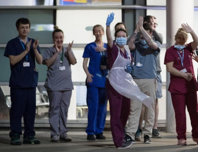 No deaths in London hospitals in the last 24 hours, according to NHS England!  Peter Byrne/PA Wire