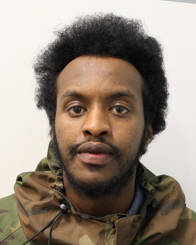 Ali Ali Ahmed has been jailed for three years ( Met Police )