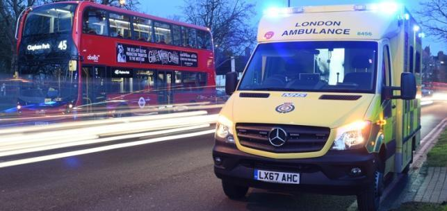 Paramedics and police have responded to a crash on the junction of Garratt Lane and Wandsworth High Street
