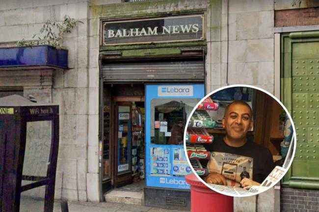 Rajiv (detail), who owns and runs Balham News newsagents, was forced to open launch a second business venture since the outbreak of the coronavirus pandemic.
