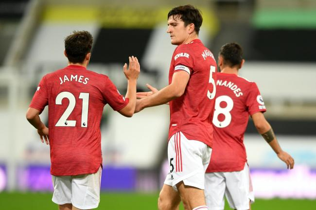 Manchester United boss Ole Gunnar Solskjaer hailed the performance of Harry Maguire