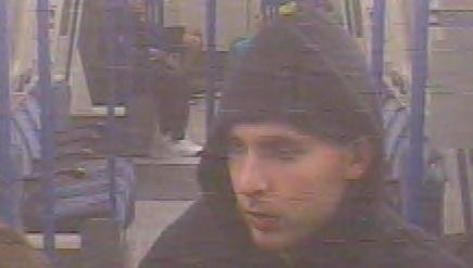 CCTV image released by British Transport Police in connection with the case.