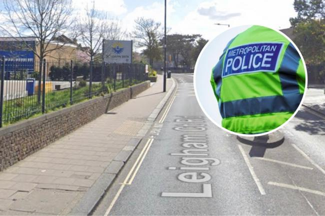 Boy attacked 'with pole' near Dunraven School
