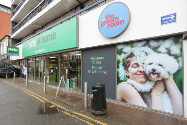 Wandsworth Times: Exterior of the pet care centre and groom room