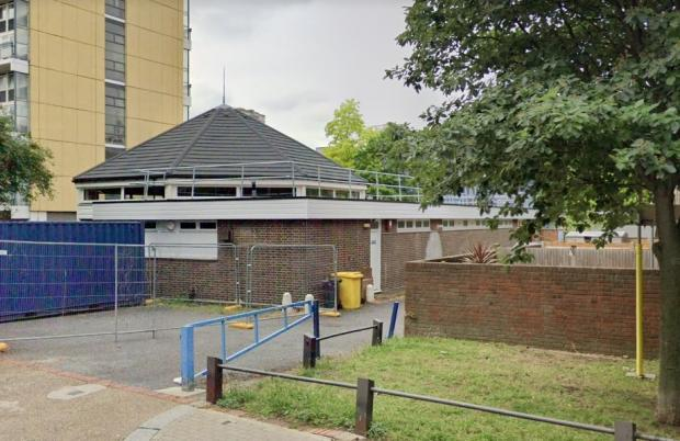 Wandsworth Times: The testing site at Ethelburga Community Centre