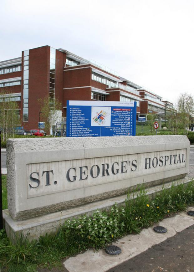 Wandsworth Guardian: St George's Hospital