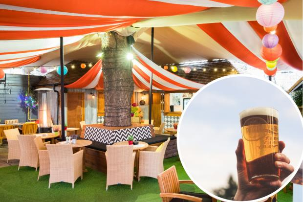 Best beer gardens in Wandsworth taking bookings for April