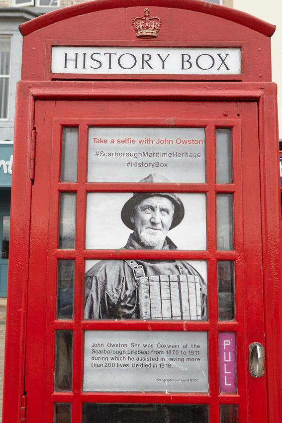 Wandsworth Times: An old phone box is transformed into a mini history museum