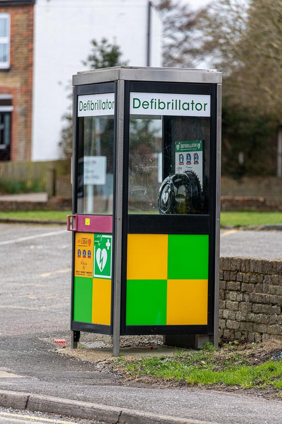 Wandsworth Times: Glass defibrillator boxes