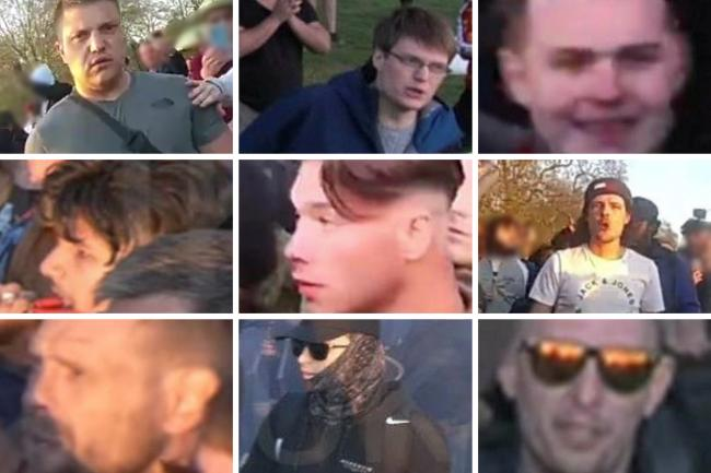Have you seen these men?? Images by Met Police