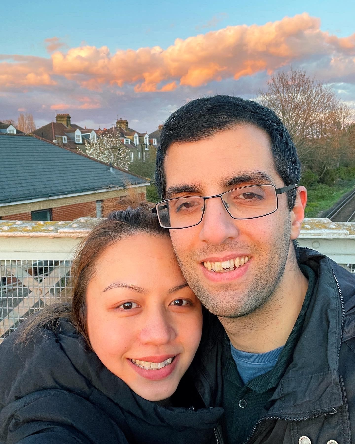 Ezabel and Alireza live together in Putney