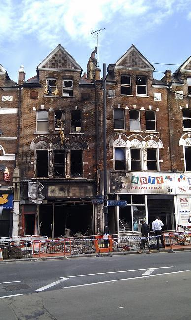 Wandsworth Times: The Party Superstore was completely gutted