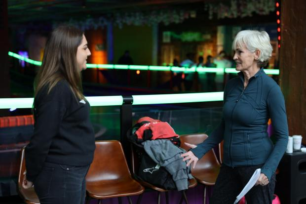Wandsworth Times: Judy Murry at Girls on Track UK event