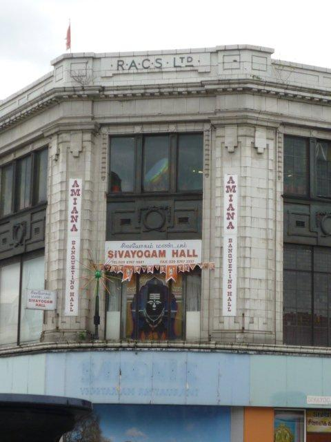 The RACS building in Upper Tooting Road. Picture: Dale Ingram, ConservationWorks UK Ltd