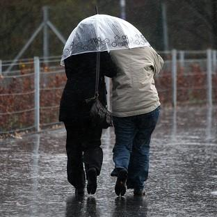 Showers are set to hit Britain on St Swithin's Day, which is said to mean 40 days of rain a