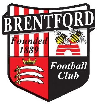 Wandsworth Guardian: Football Team Logo for Brentford