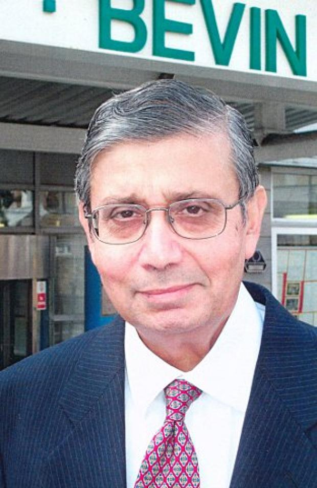 Syed 'Naz' Bokhari was awarded the OBE for services to education in 2001