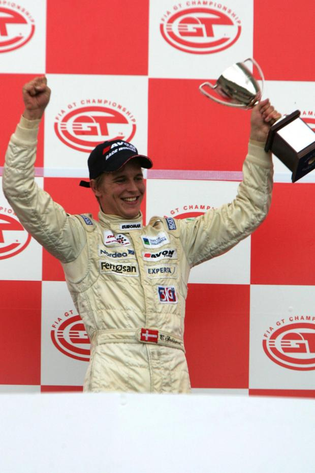 Christian Bakkerud's career highlight was winning the British Formula 3 race in Mugello, Italy, in 2006 (Credit: www.sutton-images.com)