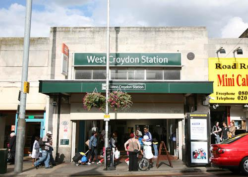 Services from West Croydon are particularly affected