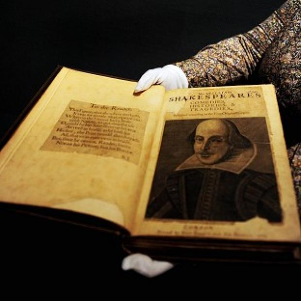The first collected edition of Shakespeare's plays was published in 1623, seven years after the writer died