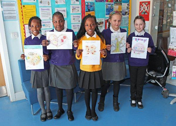 Pupils at St Andrew's Primary School in Streatham