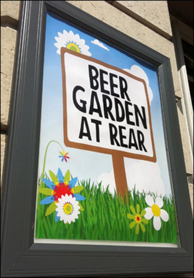 Pub gardens could be busy this week