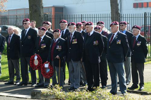 War veterans commemorate the Rhine Crossing