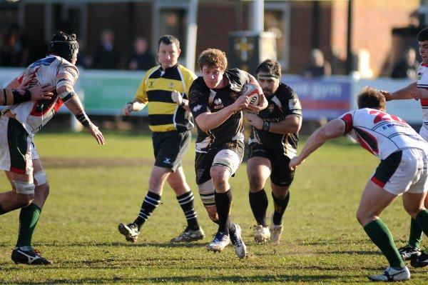 Shining light: Esher's Mike MacFarlane has come to the fore this season
