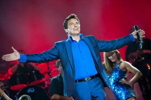 Stage star: Crowd-pleaser John Barrowman
