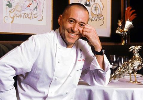 Michel Roux Jr at Le Gavroche in Mayfair