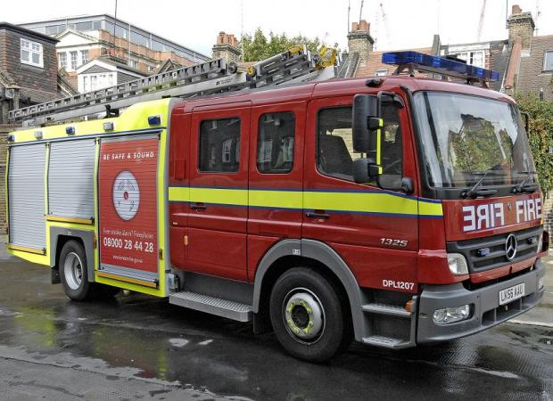 Clockhouse Place in Putney was evacuated due to fire