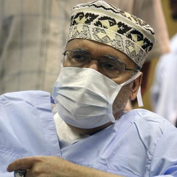 Abdelbaset al-Megrahi has been admitted to hospital for a blood transfusion (AP)