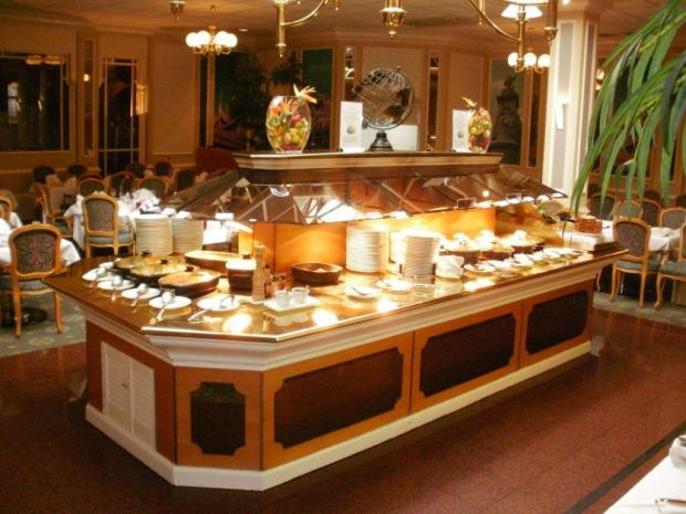 The glittering buffet