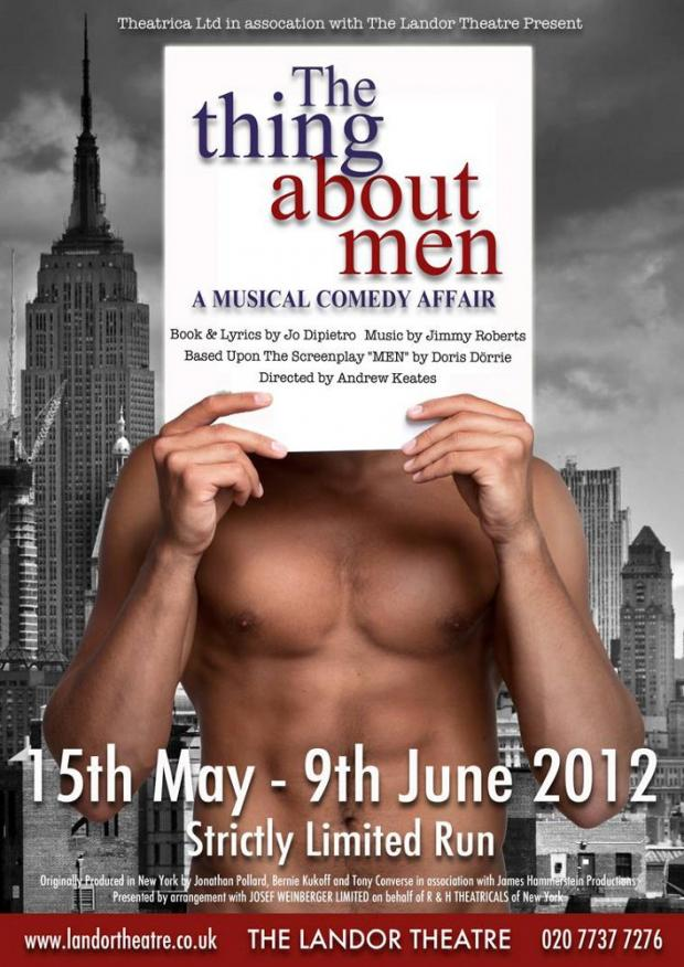 Men's innermost thoughts exposed in musical comedy