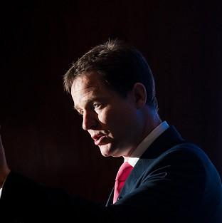 Nick Clegg admitted the use of state balance sheets to assume additional risks on major schemes was not universally popular