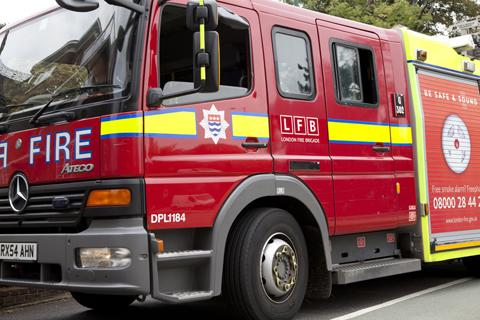Unattended cooking causes flat fire in Hope Street, Battersea