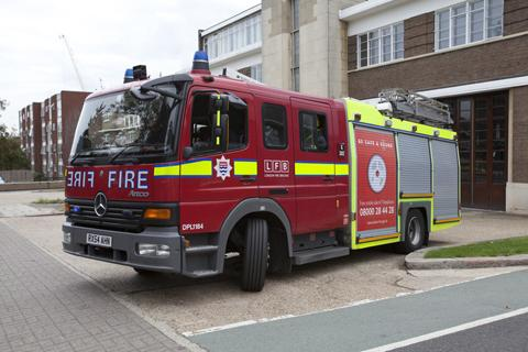 Firefighters called to oven fire in Poynders Road, Clapham