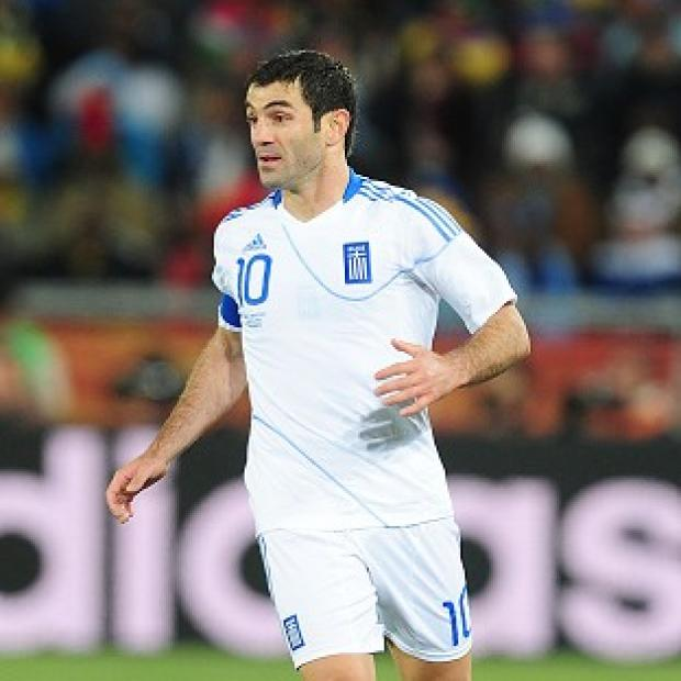 Giorgos Karagounis' goal put Greece into the Euro 2012 quarter-finals