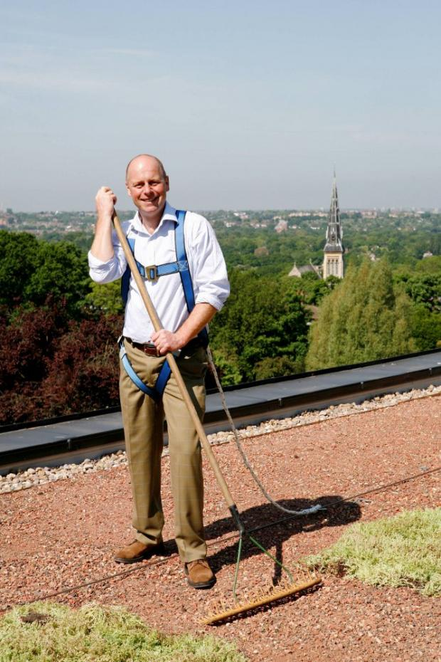 Joe Swift at the Horniman