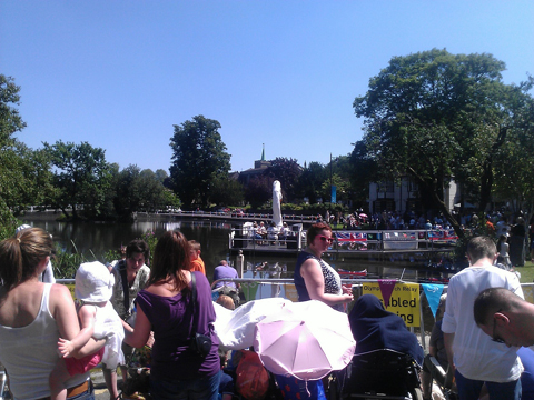 Carshalton torch party